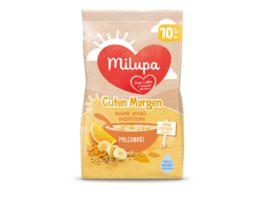 Milupa Guten Morgen Milchbrei Banane Orange Knusperkorn ab dem 10 Monat