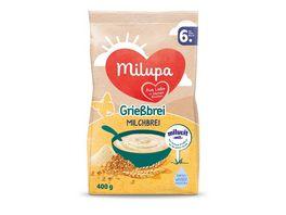 Milupa Milchbrei Griessbrei miluvit mit ab dem 6 Monat