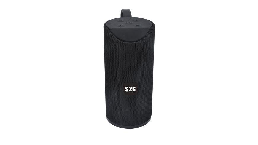 Bluetooth Lautsprecher S2G Can Schwarz