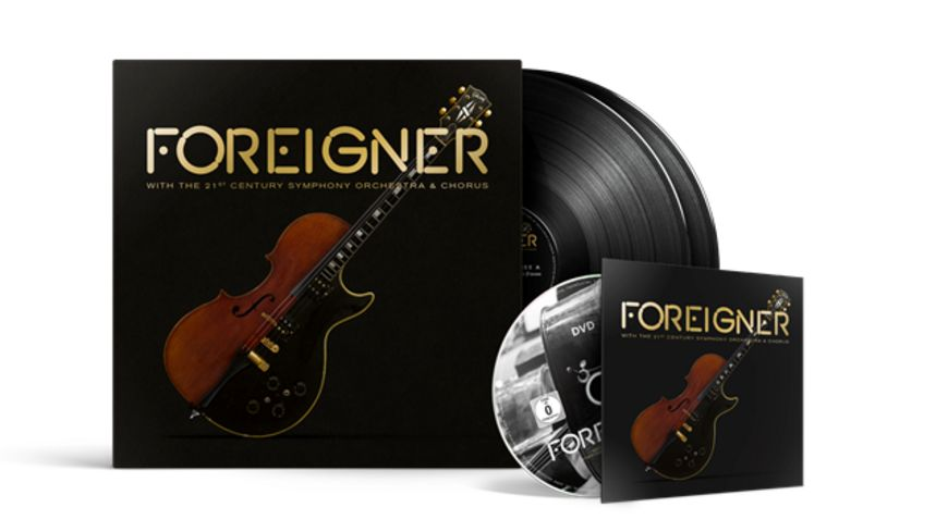 FOREIGNER With The 21st Century Symphony Orchestra Chorus