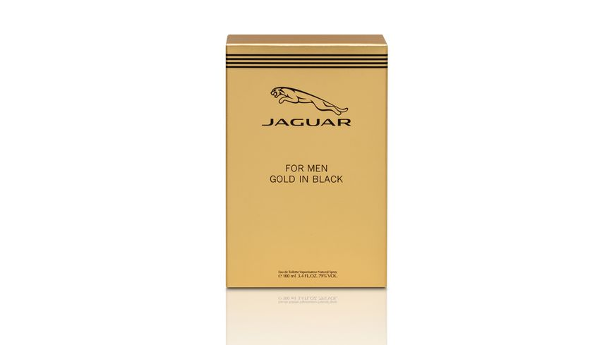 JAGUAR For Men Gold in Black Eau de Toilette Natural Spray