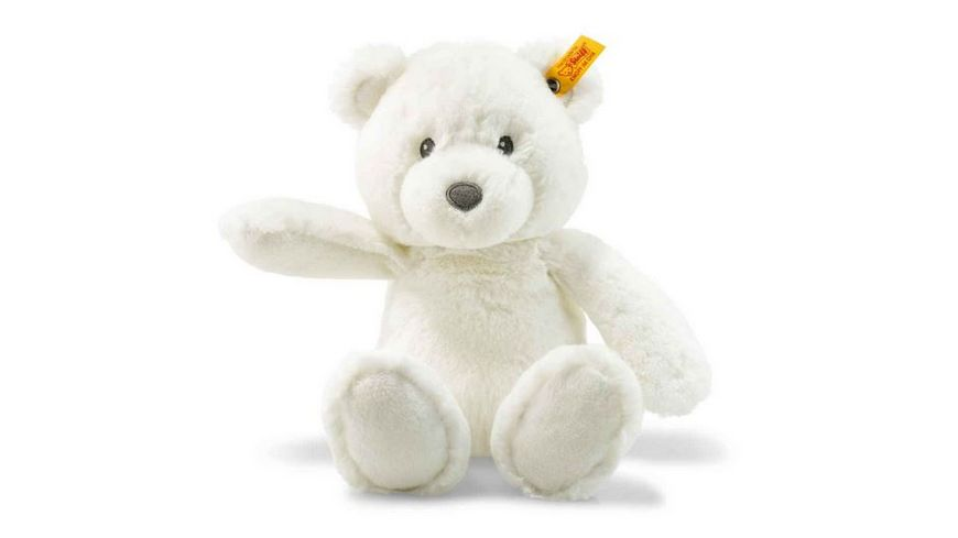 Steiff Soft Cuddly Friends Bearzy Teddybaer 28 cm weiss