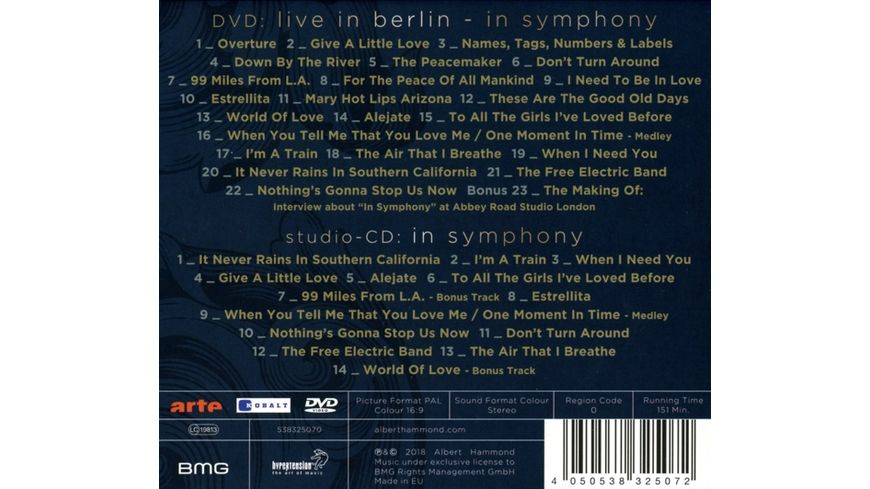 Live in Berlin In Symphony