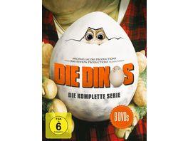 Die Dinos Die komplette Serie Softbox 9 DVDs