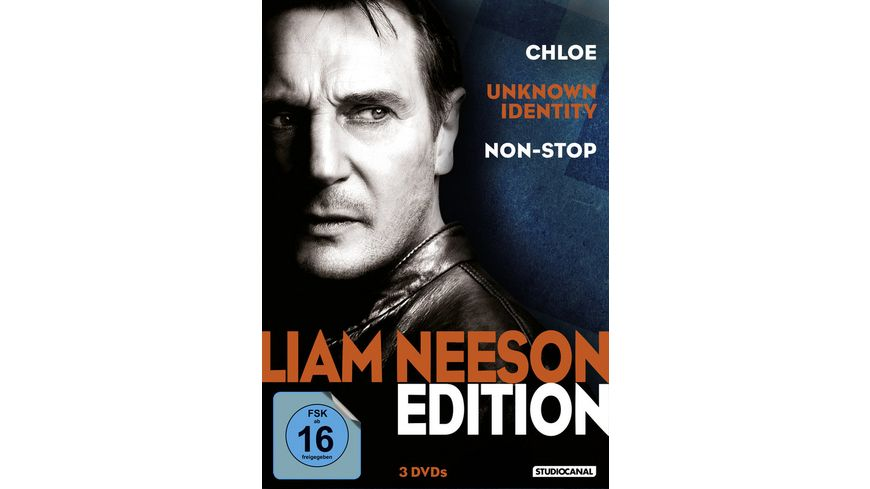 Liam Neeson Edition 3 DVDs