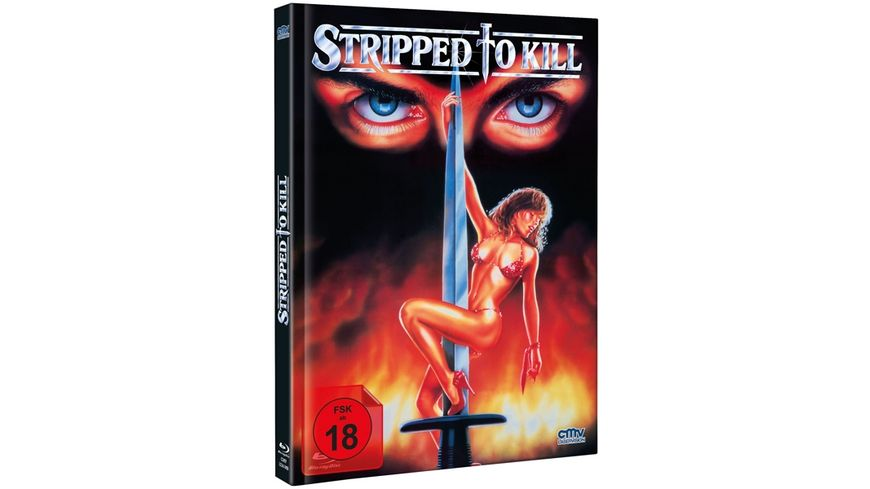 Stripped to Kill Mediabook DVD