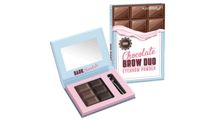 Misslyn Chocolate Brow Duo Eyebrow Powder