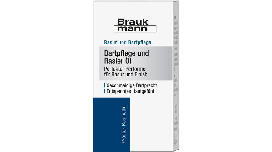 HILDEGARD BRAUKMANN Bartpflege und Rasier Oel