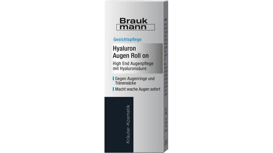 HILDEGARD BRAUKMANN Hyaluron Augen Roll on
