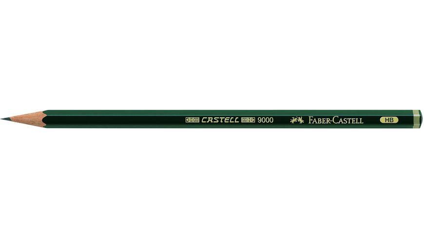 FABER CASTELL Bleistift CASTELL 9000 HB