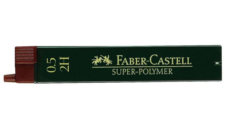 FABER-CASTELL Feinminen CASTELL 0,5 2H 12er-Dose