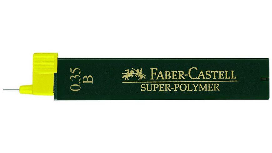 FABER CASTELL Feinminen CASTELL 0 3 B 12er Dose