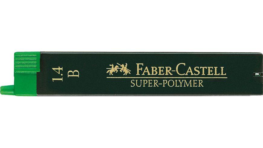 FABER CASTELL Feinminen CASTELL 1 4 B fuer E Motion Drehbleistift