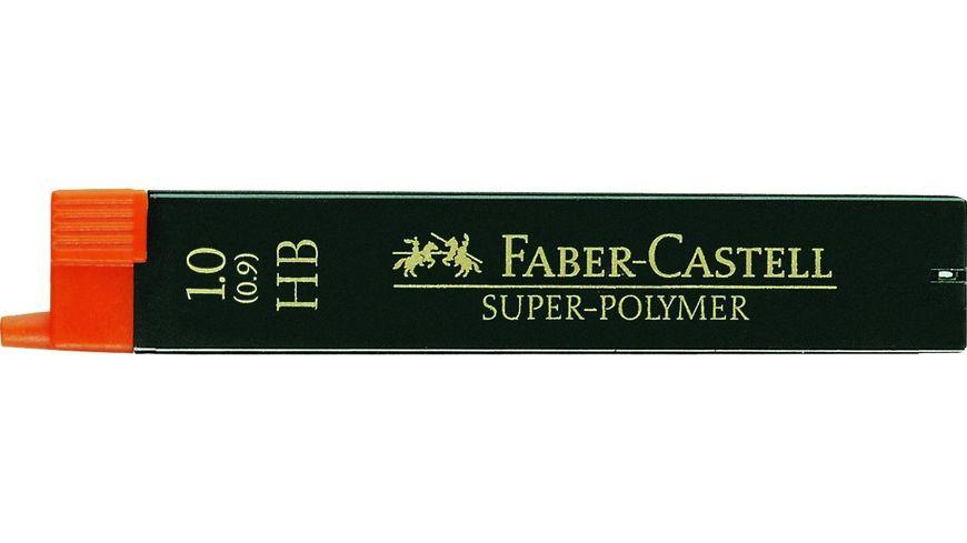 FABER-CASTELL Feinminen CASTELL 1 HB 12er-Dose