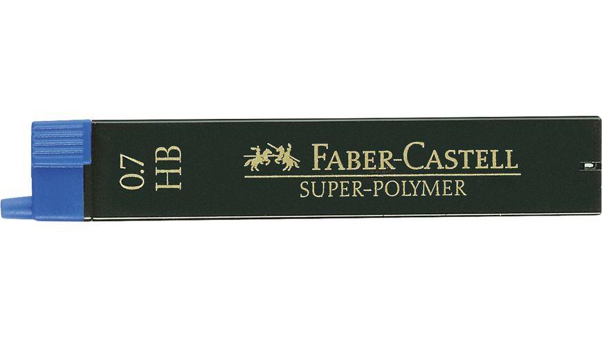 FABER CASTELL Feinminen CASTELL 0 7 HB 12er Dose