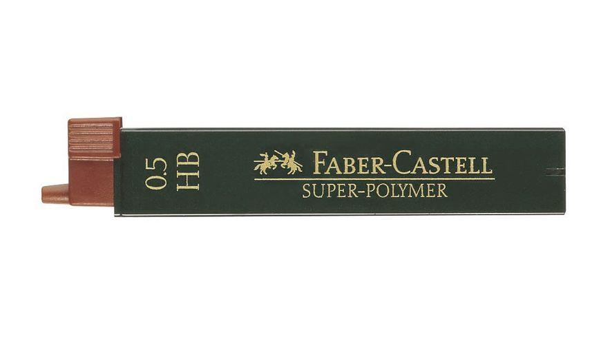 FABER CASTELL Feinminen CASTELL 0 5 B 12er Dose