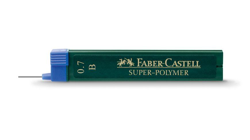 FABER CASTELL Feinminen CASTELL 0 7 B 12er Dose