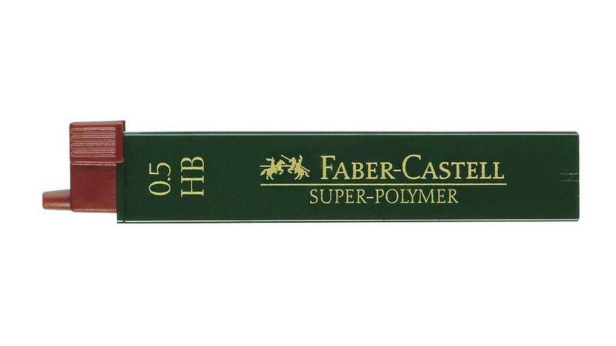 FABER CASTELL Feinminen CASTELL 0 5 HB 12er Dose