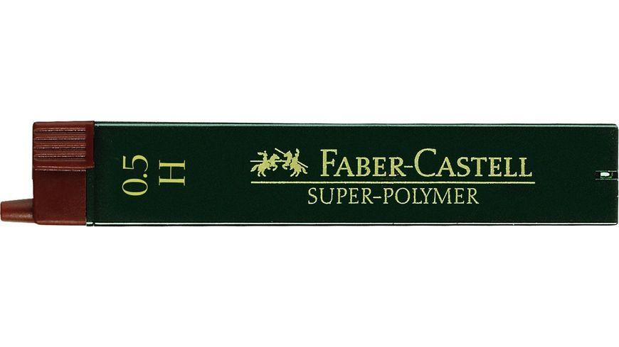 FABER-CASTELL Feinminen CASTELL 0,5 H 12er-Dose