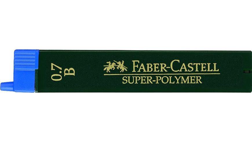 FABER CASTELL Feinminen CASTELL 0 7 H 12er Dose