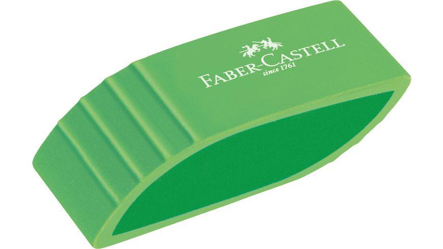 FABER CASTELL Radierer CASTELL BICOLOR sortiert