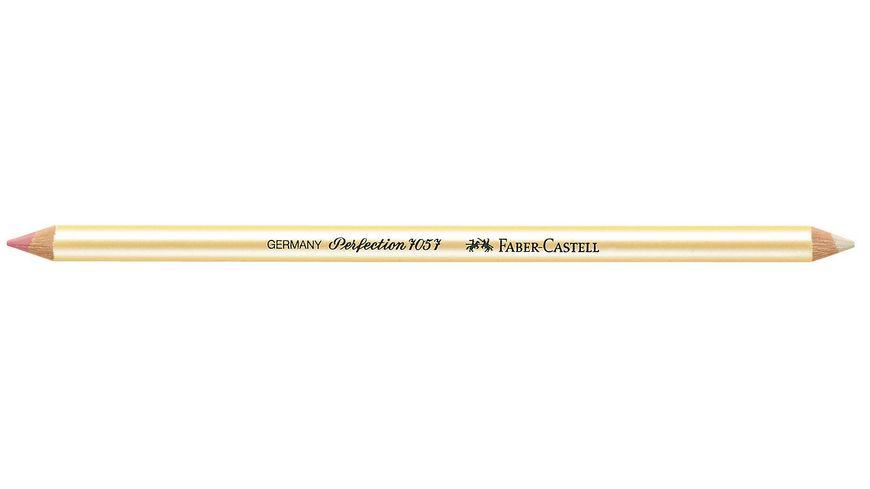 FABER CASTELL Radierstift CASTELL PERFECTION 7057 fuer Tinte Blei