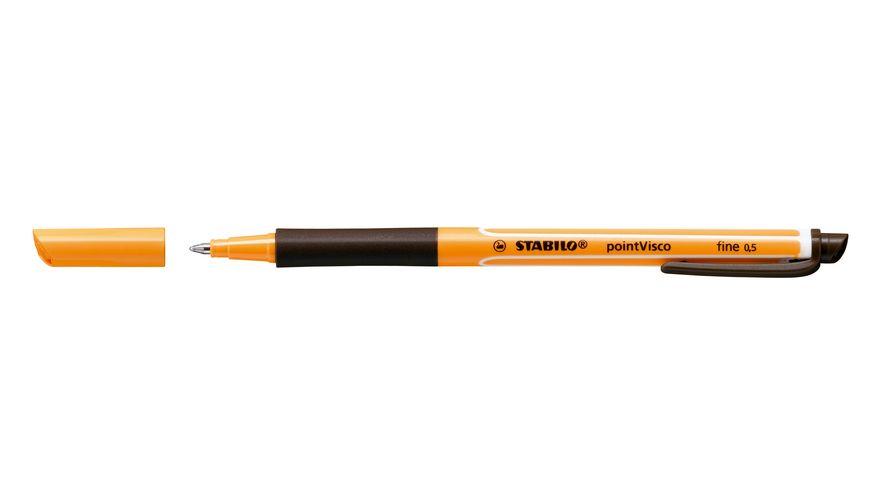 STABILO Tintenroller pointVisco