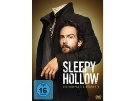 Sleepy Hollow Season 4 4 DVDs