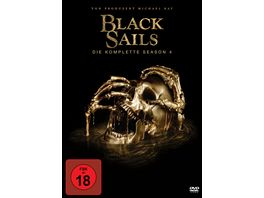 Black Sails Season 4 4 DVDs
