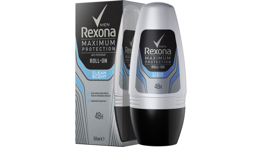 REXONA For Men Maximum Protection Clean Scent Roll On
