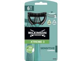 Wilkinson Sword Xtreme 3 Sensitive Herren Einwegrasierer 6 Stueck