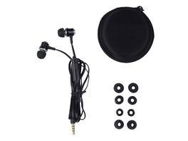 GRUNDIG Headset In ear metal schwarz