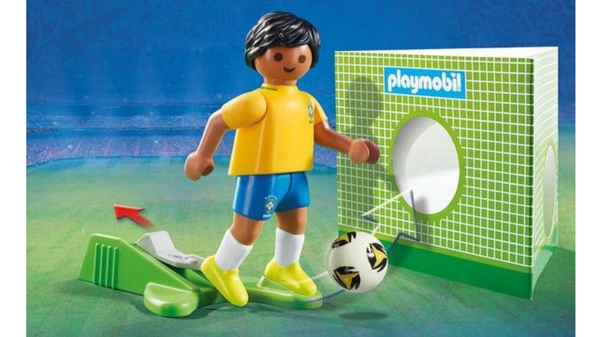 PLAYMOBIL 9510 Nationalspieler Brasilien