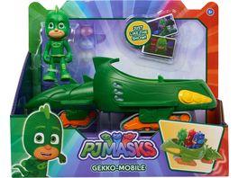 Simba PJ Masks Pyjamahelden Gecko mit Geckomobil