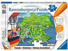 Ravensburger tiptoi Puzzlen Entdecken Erleben Deutschland