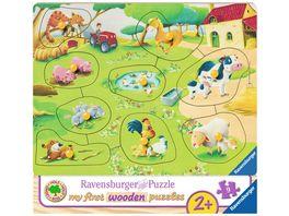 Ravensburger Puzzle Kleiner Bauernhof 10 Teile