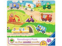 Ravensburger Puzzle Lieblingsfahrzeuge 10 Teile