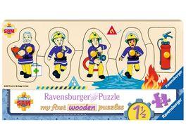 Ravensburger Puzzle Feuerwehrmann Sam Sam und seine Freunde 5 Teile