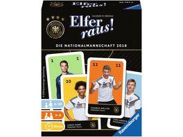 Ravensburger Spiel Elfer raus Die Nationalmannschaft 2018