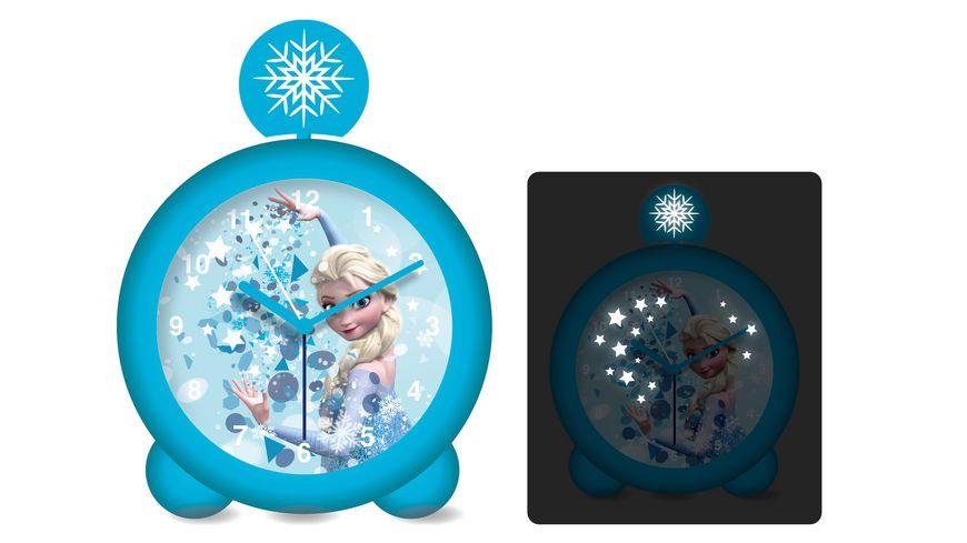 Joy Toy Disney Frozen Wecker mit Licht und Sound
