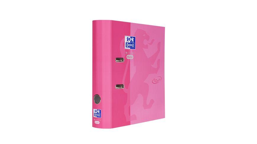 Oxford Ordner A4 breit rosa