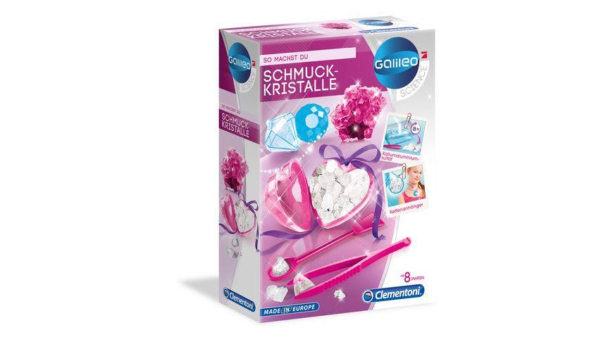 Clementoni Galileo Schmuckkristalle