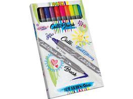 ONLINE Calligraphy Brush Pen Double Tip