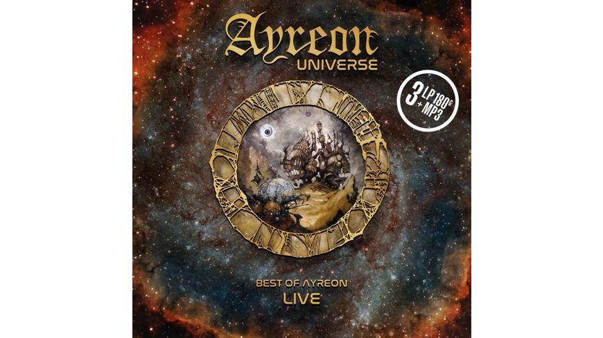 Ayreon Universe Best Of Ayreon Live Ltd 3LP MP3