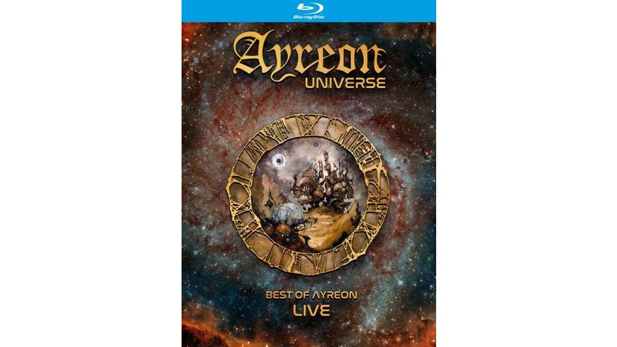 Ayreon Universe Best Of Ayreon Live Bluray