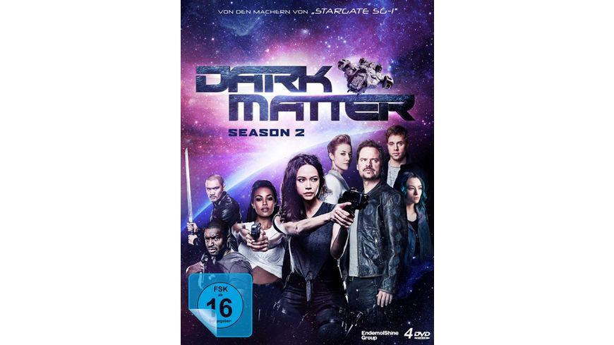 Dark Matter Die komplette 2 Staffel 4 DVDs