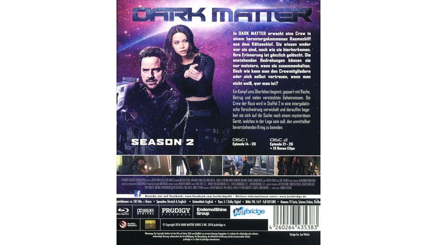 Dark Matter Die komplette 2 Staffel 2 BRs