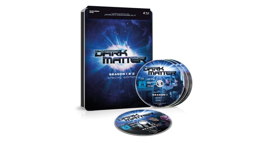 Dark Matter Season 1 2 Limited Steel Edition 4 BRs