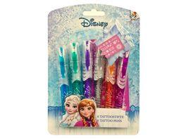 Undercover Disney Frozen Tattoo Stifte Disney Frozen 6 Stueck