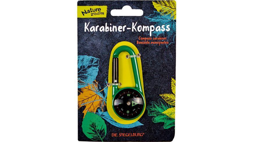 Die Spiegelburg Nature Zoom Karabiner Kompass